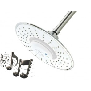 Pommeau de douche musical bluetooth